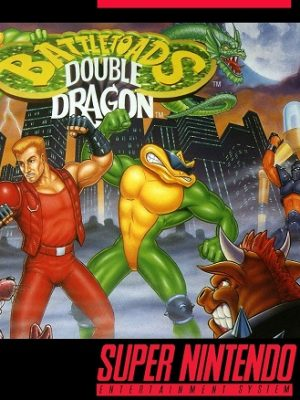 Battletoads & Double Dragon - The Ultimate Team SNES