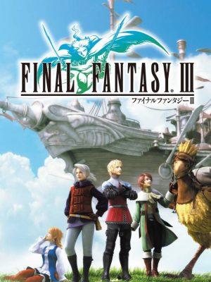 Final Fantasy 3 - III PSP