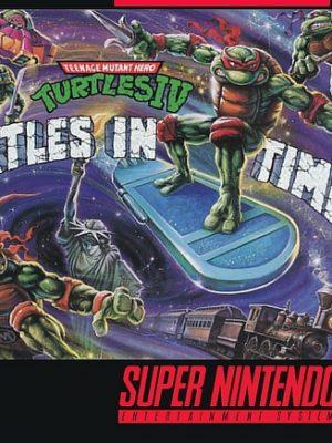 Teenage Mutant Ninja Turtles IV - Turtles in Time (Tartarugas Ninjas)