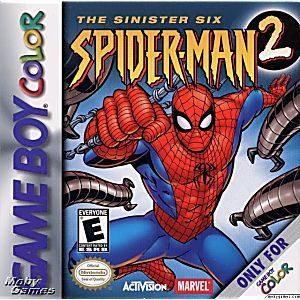 Spider-Man 2 - The Sinister Six GBC (Homem Aranha)