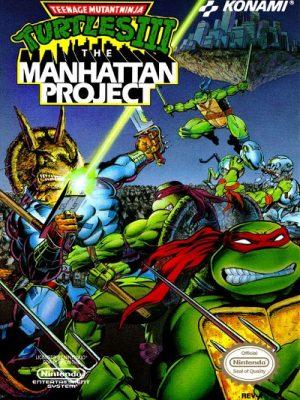 Teenage Mutant Ninja Turtles III - The Manhattan Project (Tartarugas Ninjas)