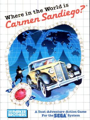 Where in the World is Carmen Sandiego (Master System)