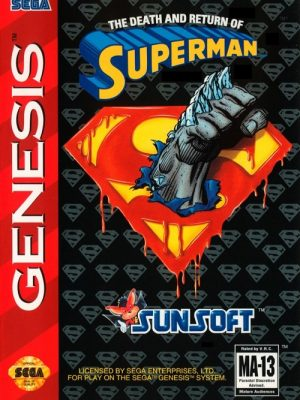 The Death and Return of Superman (Mega Drive)